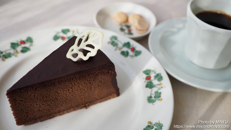 チョコレートズケーキ