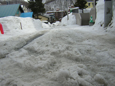 シャーベット雪