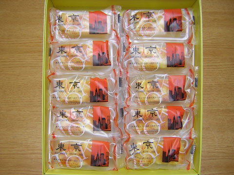 東京カマンベールチーズケーキ