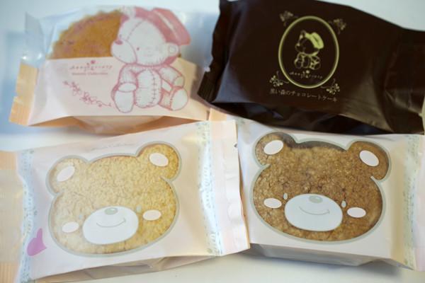 アニバーサリー札幌円山店の焼き菓子